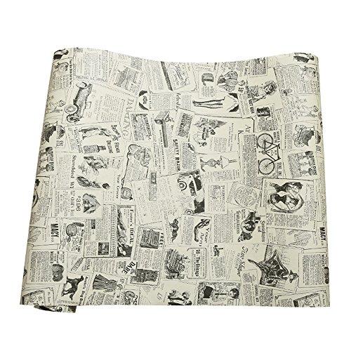 Papier journal de contact papier auto-adhésif vinyle étagère tiroir liner pour meubles Arts Artisanat décor à la maison 60 x 300 cm