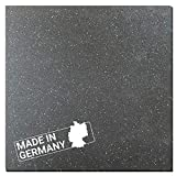 Antivibrationsmatte Hemmdal - 60x60 cm 8 mm - Waschmaschinenmatte - Gummimatte Made in Germany - Antirutschmatte für Waschmaschine, Trockner, Geschirrspüler & Fitnessgeräte