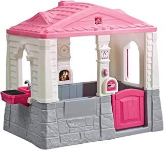 Step2 Happy Home Cottage & Grill Kids Playhouse, Pink