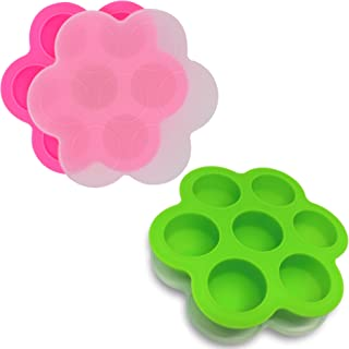 GOKCEN's Silicone Egg Bites Molds For Instant Pot Accessories - Fit Instant Pot 5,6,8 qt Pressure Cooker - Baby Food Freez...