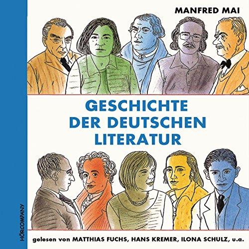 Geschichte der deutschen Literatur Titelbild