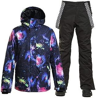Men's Snowboard ski Jacket Pants Outdoor Sports Windproof Snowsuit