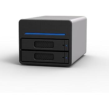 6G eSATA/USB3.0 2ベイ RAID0/RAID1/JBODストレージケース SOHOTANK ST2-SB3-6G