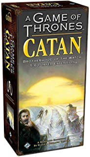 Catan Studios CN3016 Game of Thrones Catan: Brotherhood of The Watch 5-6 Player Extension, Mixed Colours