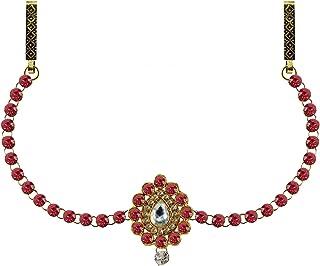 Vidhya Kangan Belly Chains for Women (Pink) (bro343)