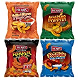 Herr's Cheese Curl Variety Pack | Grilled Cheese, Jalapeno Poppers, Carolina Reaper, Buffalo Blue Cheese| 6 Oz | 4 Total Bags