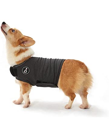 SelfLove Dog Anxiety Jacket Instant Therapy for Anxious Dogs Over Excitement Stress Relief Anxiety Coat Lightweight Calming Vest Cloth Warm and Soft Wrap for Pets Grey S