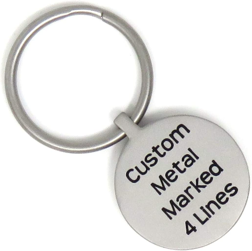 Custom Printed Circle Maple Keychains With Key Ring