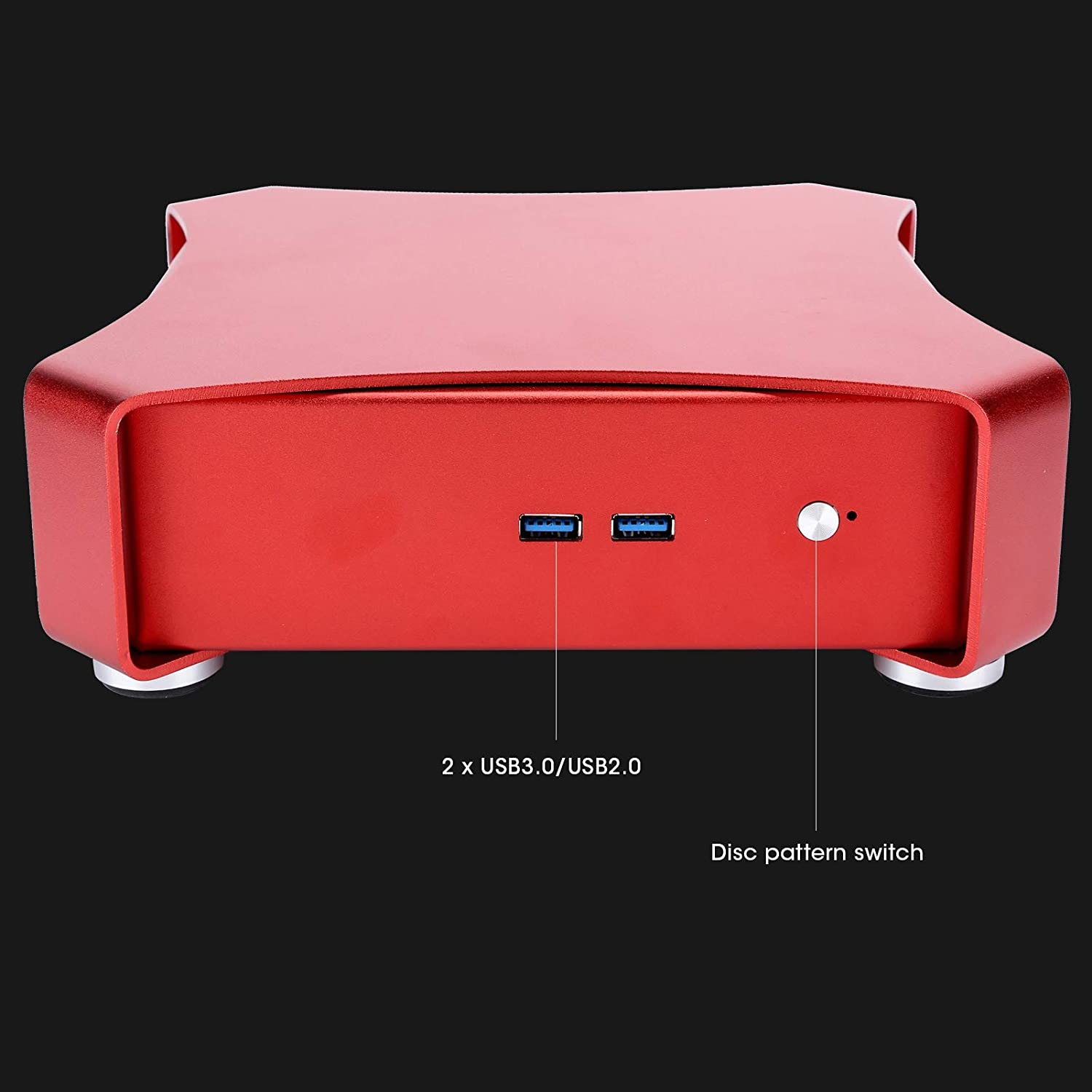 All Aluminum PC Case Stylish Mini HTPC Durable Manufacturer direct delivery C Beautiful Our shop OFFers the best service