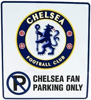 Chelsea F.C. No Parking Sign