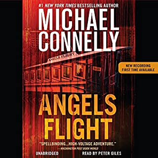 Angels Flight                   By:                                                                                                                                 Michael Connelly                               Narrated by:                                                                                                                                 Burt Reynolds                      Length: 6 hrs and 14 mins     14 ratings     Overall 3.6