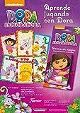 Dora la Exploradora - Juego de Cartas, 40 Cartas (Naipes Heraclio Fournier)