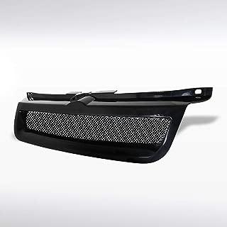 Autozensation For Volkswagen Jetta MK4 Euro Black Mesh Front Bumper Hood Grill Grille