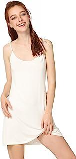 GYS Women's Sleep Shirt Scoop Neck Full Slip
