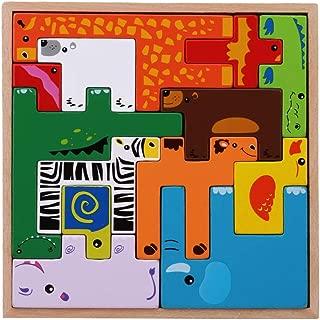 Tier SEVENHOPE 6 st/ücke Themen Kinder Zeichnung Vorlage Set Spielzeug Kinder Malerei Schablonen