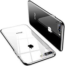 TORRAS Crystal Clear iPhone 8 Plus Case/iPhone 7 Plus Case, [Anti-Yellow] Soft Silicone TPU Cover Slim Thin Gel Phone Case for iPhone 7 Plus/8 Plus, All Clear