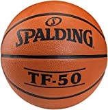Spalding TF50 Outdoor - Balón de baloncesto (7), color naranja