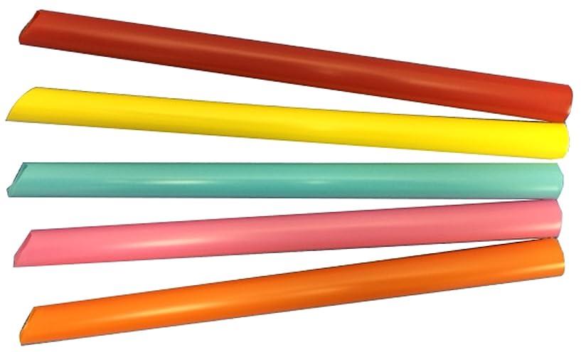 フィットコレクションレイプシバセ工業 ストロー ダイヤストロー ストレート 片先斜め 18cm 130本入 5色アソート 648
