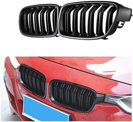 Noir Brillant. kitabetty Grille Centrale La Grille /À Double Pont Am/éliore Le Style Ext/érieur De Votre Voiture pour Les Ponts BMW F30 Et F31 F35