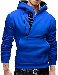 【 Smaids×Smile 】 カジュアル パーカー 人気 おしゃれ メンズ めんず 冬 秋 春 無地 長袖 シンプル ロゴ 付 ジップアップ