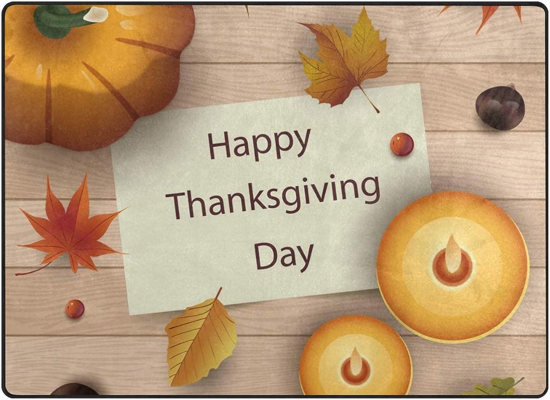 FAJRO Thanksgiving Thankfulness Rugs for entryway Doormat Area Rug Multipattern Door Mat shoes Scraper Home Dec Anti-Slip Indoor Outdoor