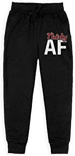 Dxqfb Thirty AF 30th Birthday Boys Sweatpants,Sweatpants For Boys