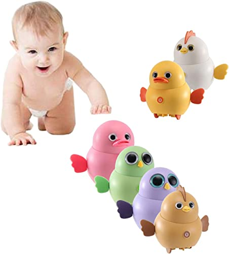 discount OPTIMISTIC Electronic Interactive Toy Walking Swinging Chicken for Kids Magnetic Electric Toy Chicks 2021 Duck Owl Swing Team Lovely Rocking Electric Animal Toys Set new arrival Gift for Kids Children outlet sale