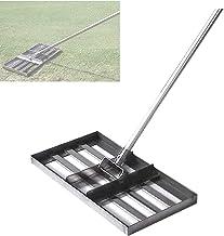 WSVULLD Golf - roestvrijstalen grondplaat met lange handgreep - niveau bodem of vuil grondoppervlakken gemakkelijk - pak v...