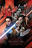 Star Wars The Last Jedi-Red Montage Maxi Poster Drucken,
