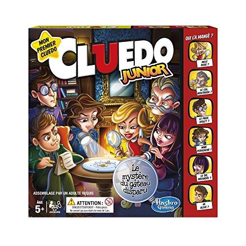 Hasbro Cluedo – Jeu de Societe Cluedo Junior – Version Française