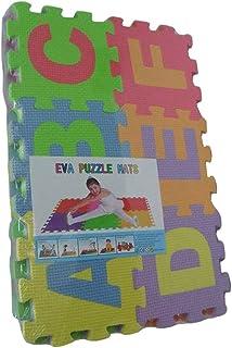 KICCOLY Puzzle Goma EVA de 36 Piezas   Alfombra Infantil Puzzle de Letras   Alfombra puzle (36 Piezas)   Alfombra Goma para bebé   Alfombra Bebe   Alfombra Puzzle de Letras