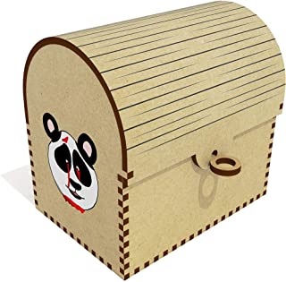 Bleeding Panda Head  Treasure Chest Jewellery Box  TC00041231