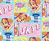 Paw Patrol Rules Cotton Fabric by The Yard