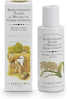 LErbolario Restructuring Fluid - Millet and Wheat Germ for Unisex - 3.3 oz Oil