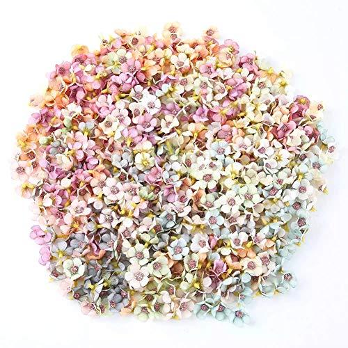 50 STÜCKE Künstliche Seide Daisy Blume, kleine Blumen DIY Bouquet Garland Craft für Hochzeit Baby Shower Home Decor