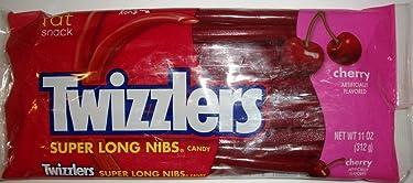 Twizzlers - Pack de 1 bolsa de caramelo con sabor a cereza de 11 onzas