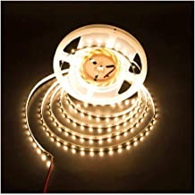 LEDMY Flexible Led Strip Light DC 24V 24W SMD3528 300LEDs IP20 Non Waterproof Led Tape Light Warm White 2400K 5Meter/ 16.4...