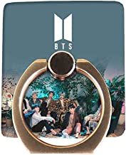 Chutoral Kpop BTS Phone Holder & Stand, Bangtan Boys Phone Finger Ring with 360° Rotation Hand Grip for Cell Phones and Tablets(BTS)