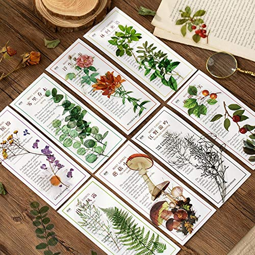 40 Piezas Monet Garden Series Bullet Journal Papelería Decorativa Vintage Flower Stickers Scrapbooking DIY Diario Álbum Stick Lable