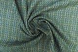 Lady McElroy Woll-Tweed-Beschichtung, Grün, Meterware