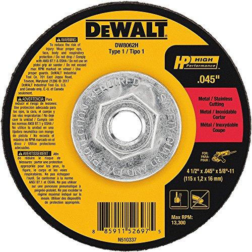 DEWALT DW8062H 4-1/2
