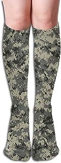 Tonesum, Calcetines de poliéster suave para mujer, calcetines de pantorrilla de invierno duraderos y antideslizantes 50CM