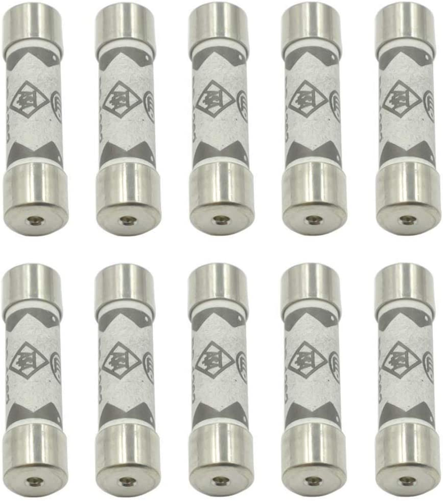 Hxchen 10A 250V Ceramic Fuse Special sale item 6x25mm Challenge the lowest price of Japan ☆ Tube Blow Fast for Cartridge