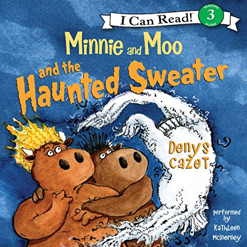 Minnie and Moo and the Haunted Sweater audiobook cover art