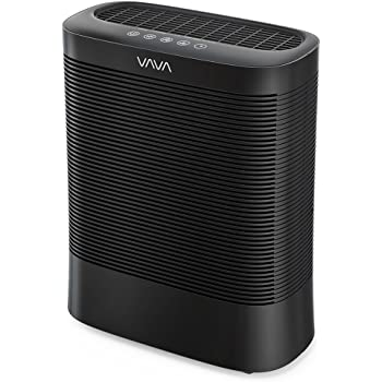 VAVA Air Purifier for Home Germs with UV-C Light Sanitizer, Eliminates Germs, 3in1 True HEPA Filter for 270-320 Sq.Ft Large Room, Purify Smoke Allergens Pollen Pets Dander