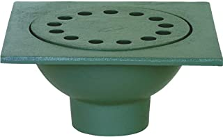 Wiltse Hinged Bell Trap Floor Drain 6 x 6 x 2 Pipe