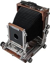 Shen Hao TZ45 IIC Black Walnut Wooden Field Folding 4X5 Large Format Camera