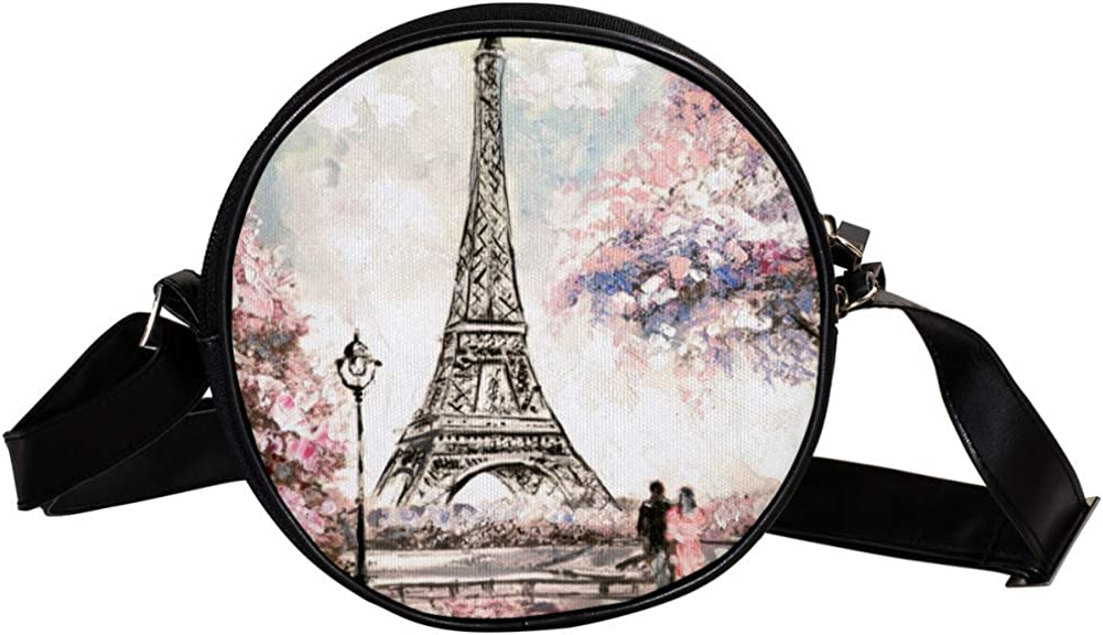 Coin Purse For Kids Max 66% OFF Tower Couple Crossbody Peach Blossoms B Mini Sale Special Price