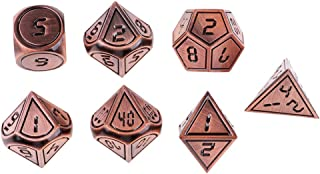 MagiDeal 7 Pieces Polyhedral Dice Set for Dungeons and Dragons DND RPG MTG Games 01