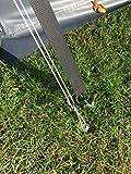 EisenRon Camping Set 10x300 mm - 10 Stück Schraubheringe für Zeltbefestigung mit Bit - 4